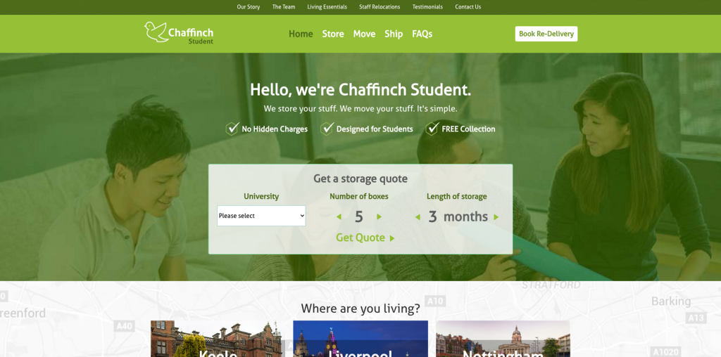 Chaffinch Student